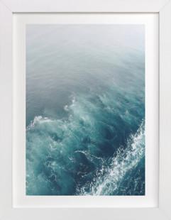 Marbled Wake Domino Non-custom Art Print