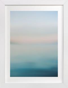 Cornflower Lake View Domino Non-custom Art Print