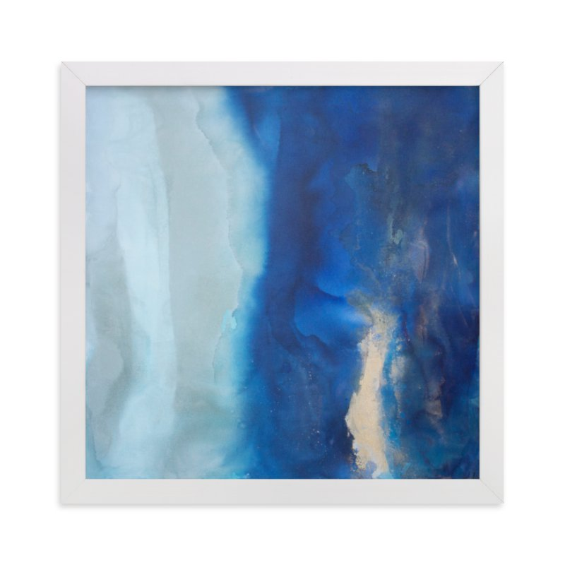 """""""Ebbing Tide"""" - Limited Edition Art Print by Julia Contacessi in beautiful frame options and a variety of sizes."""