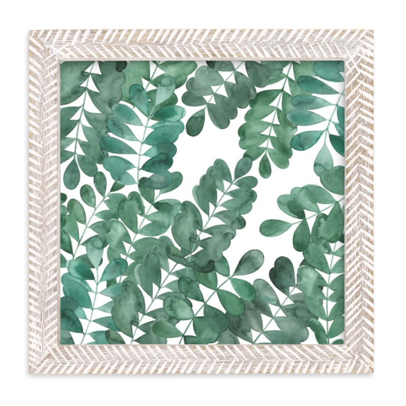 """""""Leafy Bowers"""" - Limited Edition Art Print by Natalie Ryan in beautiful frame options and a variety of sizes."""