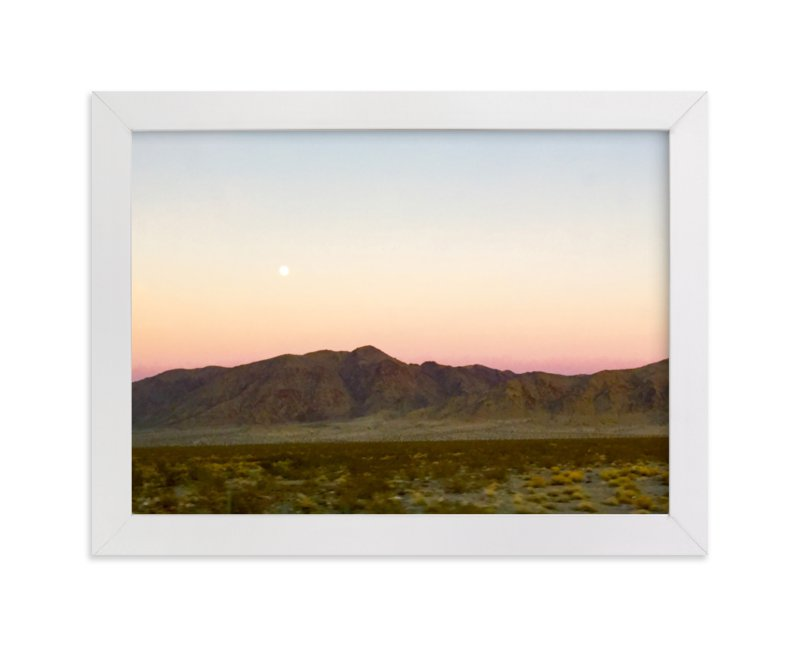 """Lunar Phase 1"" - Limited Edition Art Print by Leah Lenz in beautiful frame options and a variety of sizes."