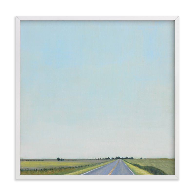 """Kansas Morning"" - Limited Edition Art Print by Catherine Freshley in beautiful frame options and a variety of sizes."