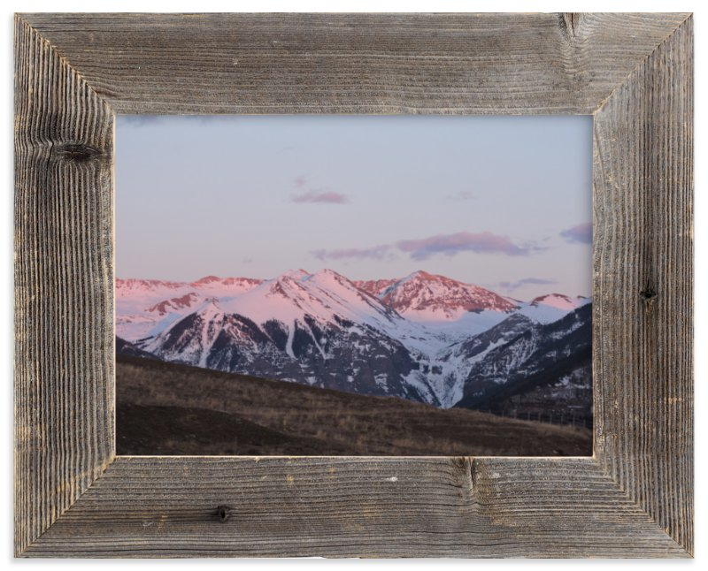 """""""Sierra Alpenglow"""" - Limited Edition Art Print by Jeff Vilkin in beautiful frame options and a variety of sizes."""