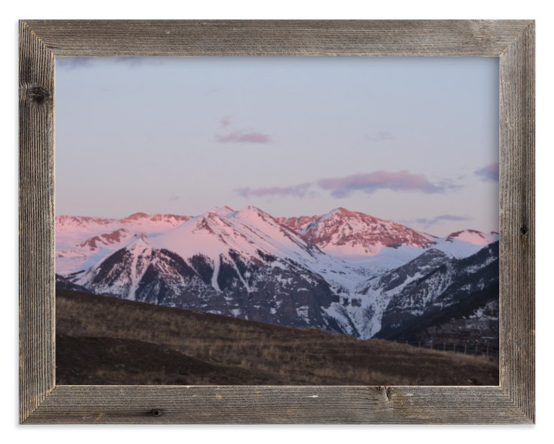 """Sierra Alpenglow"" - Limited Edition Art Print by Jeff Vilkin in beautiful frame options and a variety of sizes."