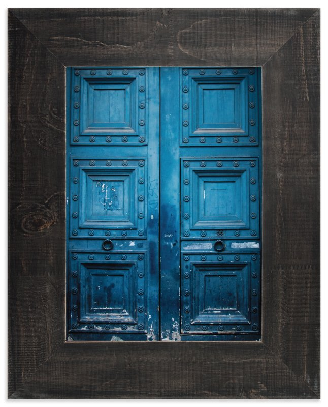 """""""Behind Door Number 1"""" - Limited Edition Art Print by Pockets of Film in beautiful frame options and a variety of sizes."""