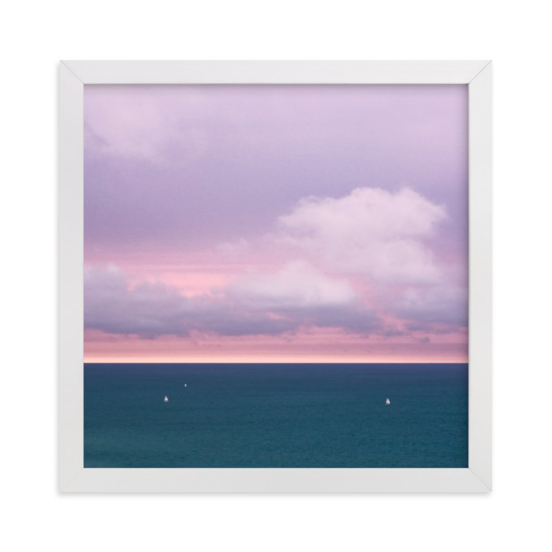 """A Painted Sky"" - Limited Edition Art Print by Megan Lusher Photography in beautiful frame options and a variety of sizes."