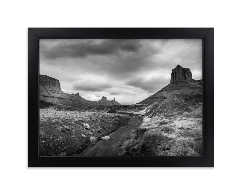 """""""buttes & mesas II"""" - Limited Edition Art Print by Eric Clegg in beautiful frame options and a variety of sizes."""