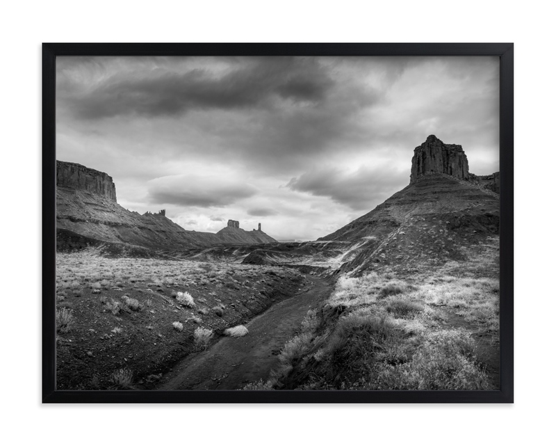 buttes & mesas II Wall Art Print