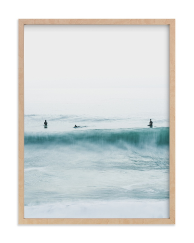 Hermosa Blue II Wall Art Print