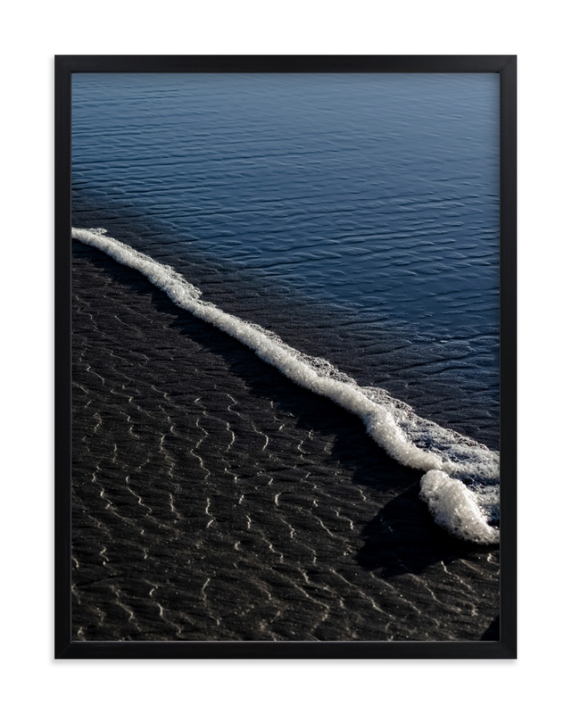 Negative Space: Shoreline II Wall Art Print