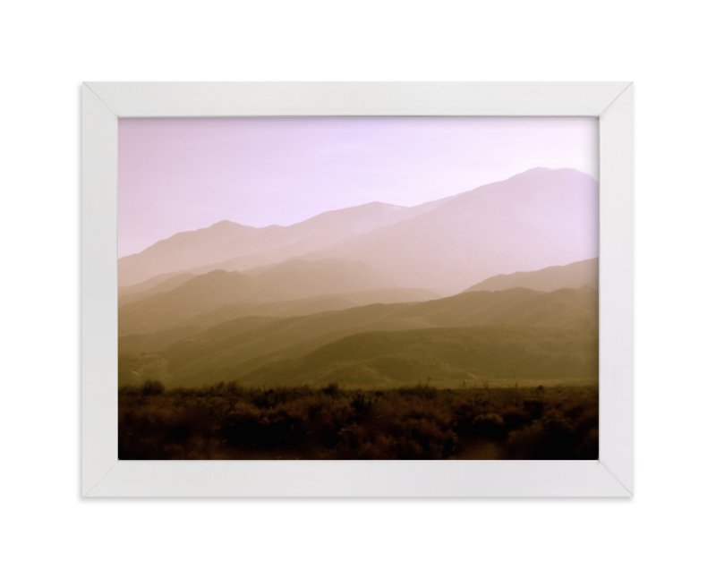 """Indian Canyon"" - Limited Edition Art Print by Lisa Sundin in beautiful frame options and a variety of sizes."