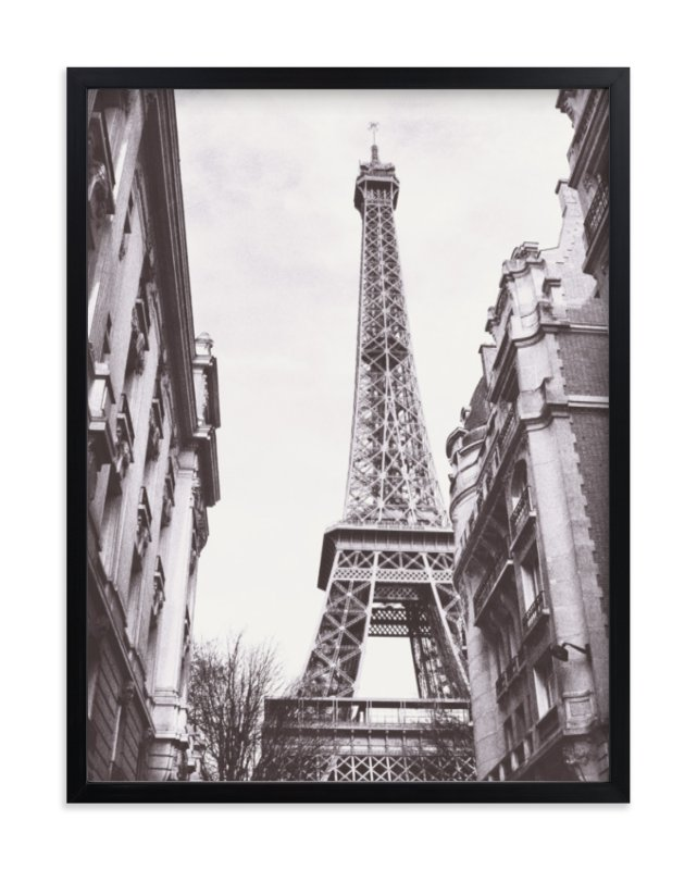 """Eiffel"" - Limited Edition Art Print by Gabrial Reising in beautiful frame options and a variety of sizes."