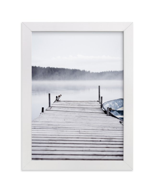 """""""Cool summer"""" - Limited Edition Art Print by LemonBirch Design in beautiful frame options and a variety of sizes."""