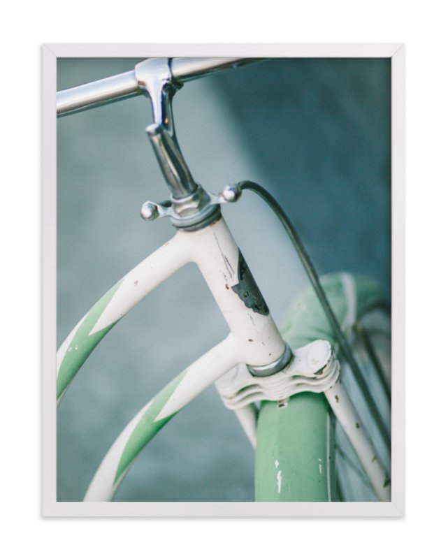 """Bicyclette I"" - Limited Edition Art Print by Lindsay Ferraris Photography in beautiful frame options and a variety of sizes."