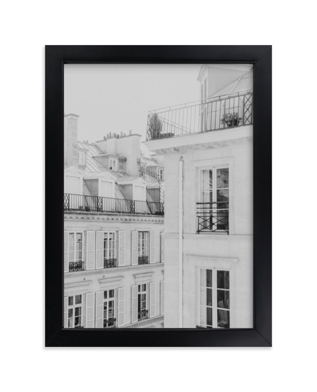 """""""Parisian Rooftops"""" - Limited Edition Art Print by Lindsay Ferraris Photography in beautiful frame options and a variety of sizes."""
