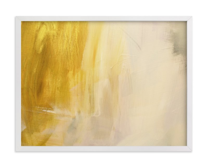 """""""In Gold"""" - Limited Edition Art Print by Nell Waters Bernegger in beautiful frame options and a variety of sizes."""