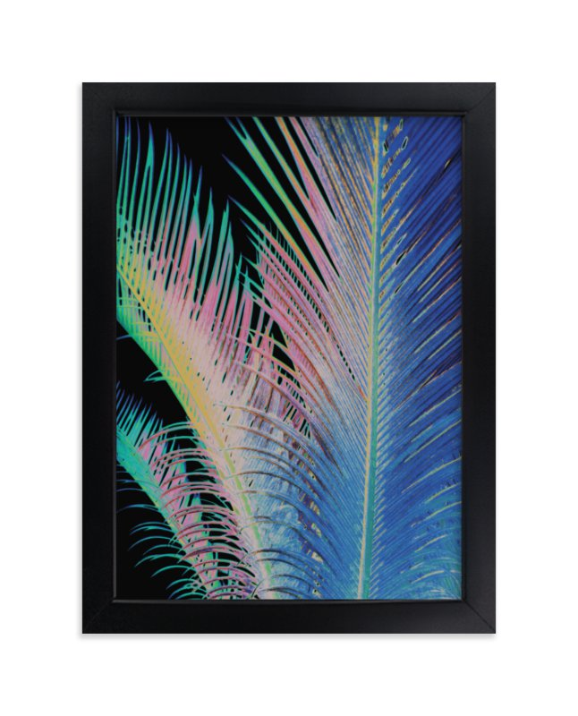 """""""Tropical"""" - Limited Edition Art Print by Susanna Nousiainen in beautiful frame options and a variety of sizes."""