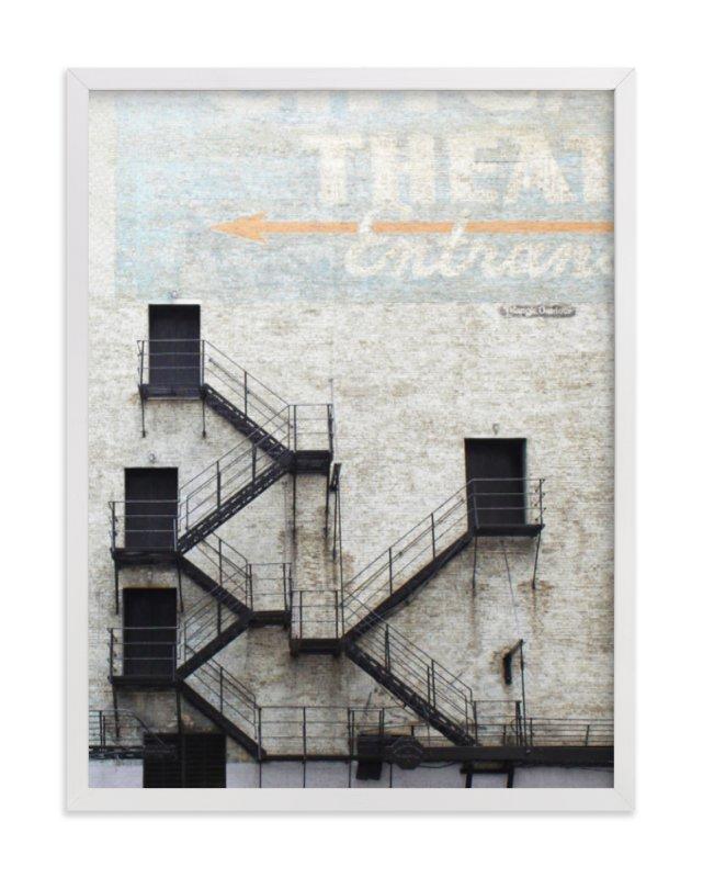 Stage Door Wall Art Print