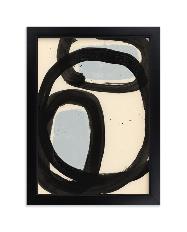 """""""Encapsulated Shapes I"""" - Limited Edition Art Print by Bethania Lima in beautiful frame options and a variety of sizes."""