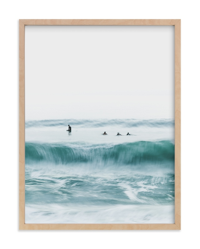 Hermosa Blue I Wall Art Print