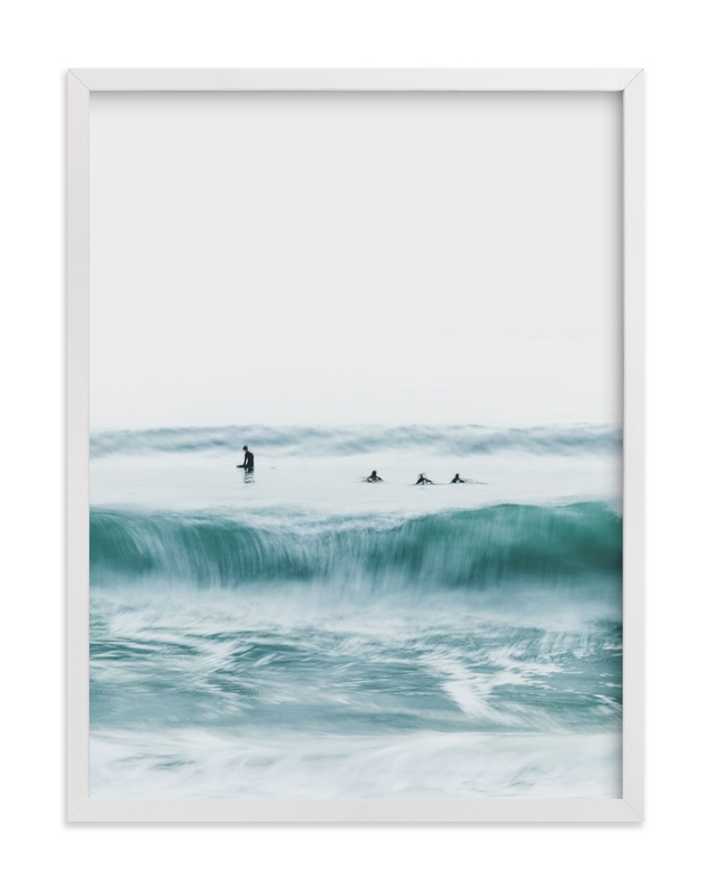 Hermosa Blue I Wall Art Print