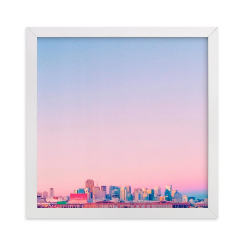 """""""Twilit City"""" - Limited Edition Art Print by SylvieCeres Designs in beautiful frame options and a variety of sizes."""