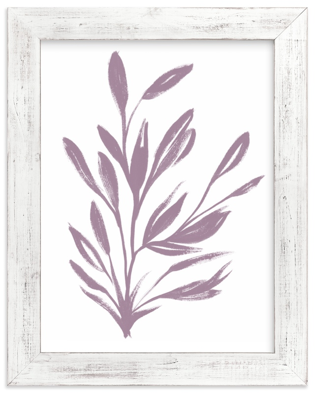 """""""Botanical Sumi Ink"""" - Limited Edition Art Print by Nancy Noreth in beautiful frame options and a variety of sizes."""