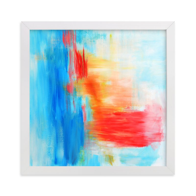 """""""Dalliance"""" - Limited Edition Art Print by Artsy Canvas Girl Designs in beautiful frame options and a variety of sizes."""