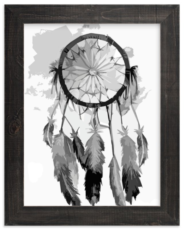 """Dreamcatcher"" - Limited Edition Art Print by Kelsey McNatt in beautiful frame options and a variety of sizes."