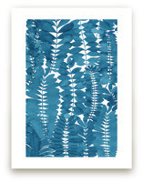 Indigo Leaves by Natalie Ryan