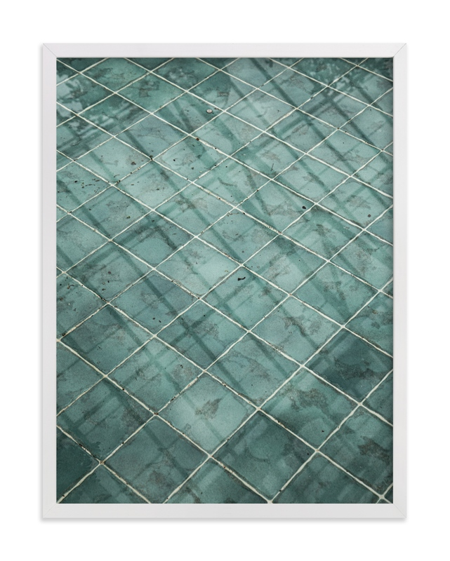 Weaves of shadows II Wall Art Print