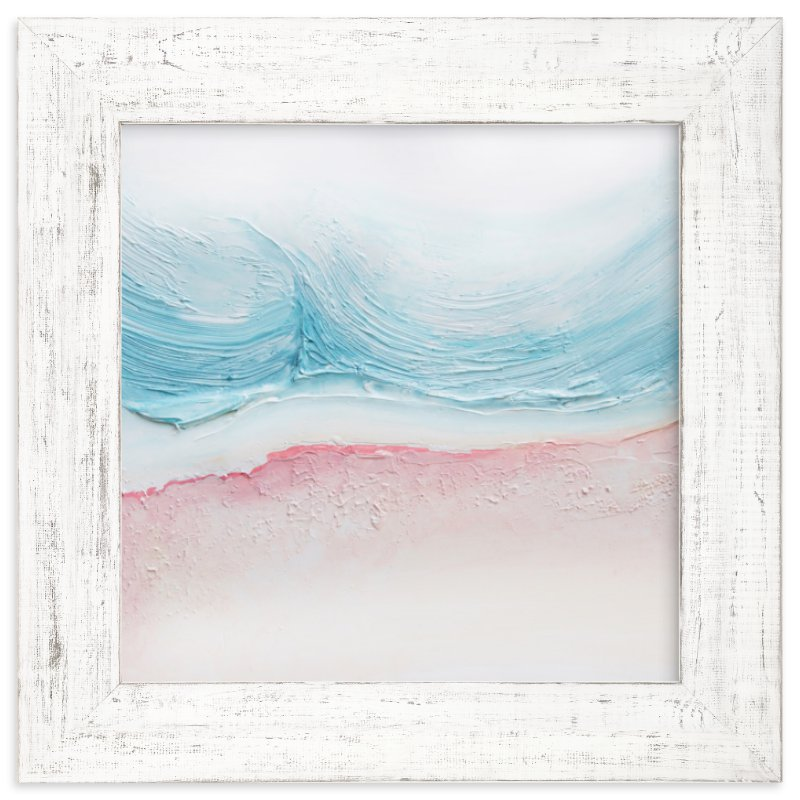 """""""Coast"""" - Limited Edition Art Print by Lucrecia in beautiful frame options and a variety of sizes."""