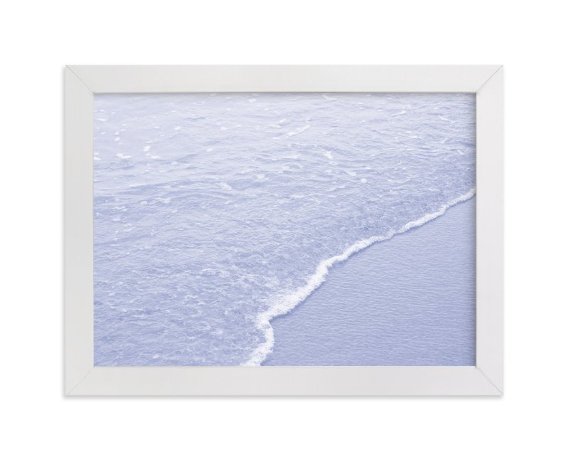 """""""Blue"""" - Limited Edition Art Print by Celia Maria in beautiful frame options and a variety of sizes."""