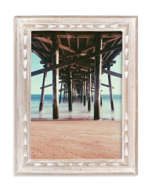 """""""Long Exposure Pier Pressure"""" - Limited Edition Art Print by Christian Florin in beautiful frame options and a variety of sizes."""