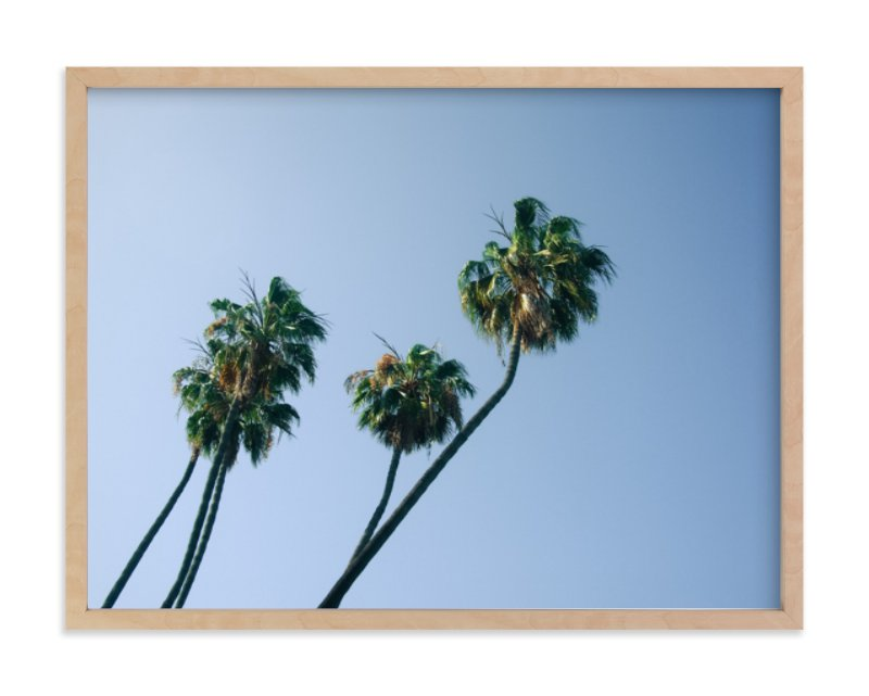 """""""Palm Lean"""" - Limited Edition Art Print by Alexandra Nazari in beautiful frame options and a variety of sizes."""