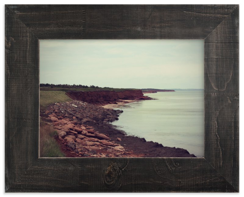 """The Sea Awaits"" - Limited Edition Art Print by Gray Star Design in beautiful frame options and a variety of sizes."