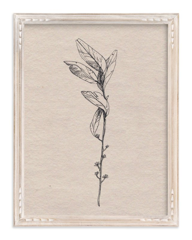 """""""Dancing Branches"""" - Limited Edition Art Print by Andrea Rose in beautiful frame options and a variety of sizes."""