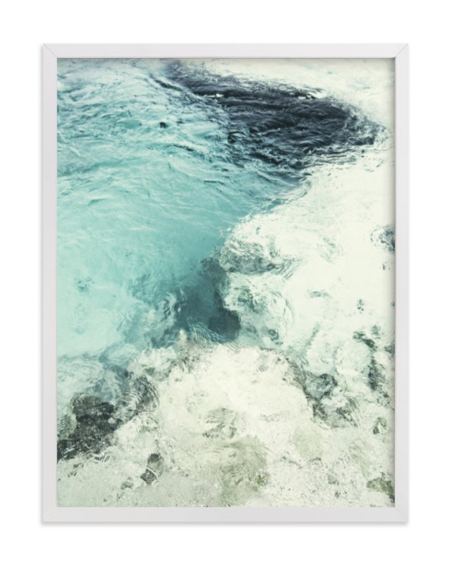 """""""Blue Monday"""" - Limited Edition Art Print by Studio Singhi in beautiful frame options and a variety of sizes."""