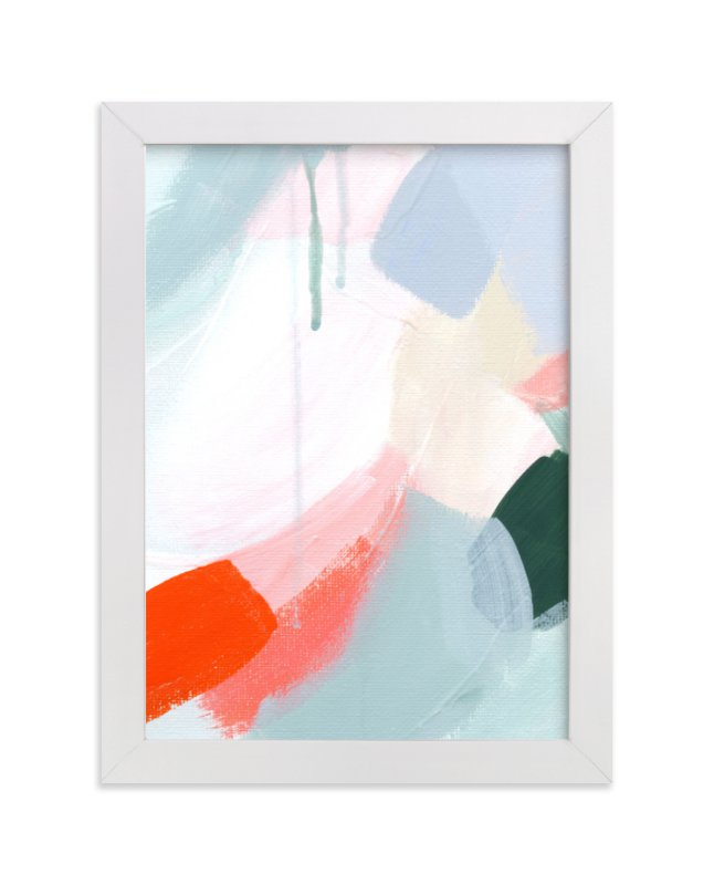"""Enliven"" - Limited Edition Art Print by Melanie Severin in beautiful frame options and a variety of sizes."