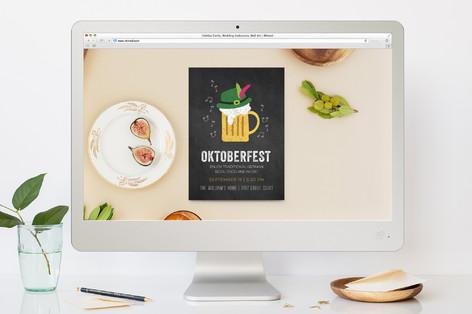 Oktoberfest Beer and Music Oktoberfest Online Invitations