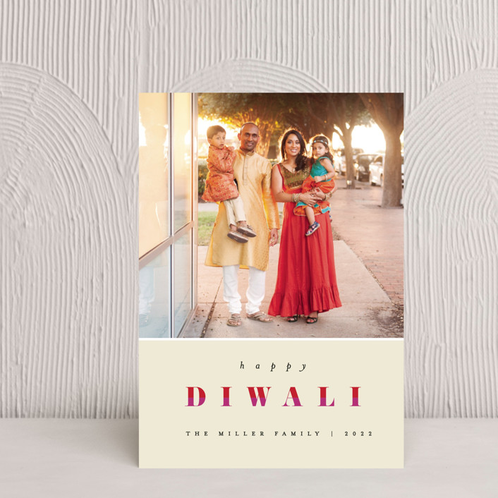 """Bright Diwali"" - Diwali Postcards in Lights by Pixel and Hank."