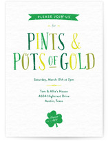 Pints & Pots of Gold St Patty's Day
