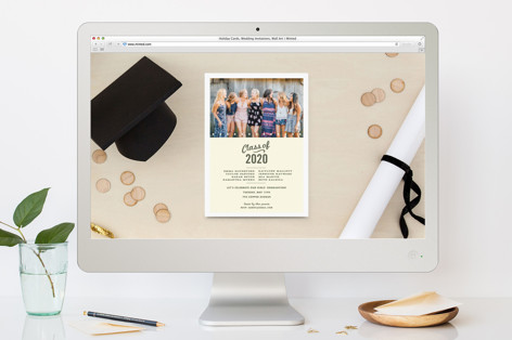 Graduation All-Stars Graduation Online Invitations