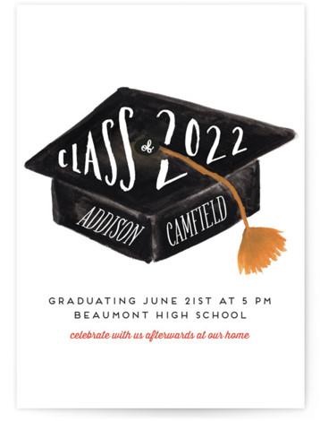 graduation party online invitations minted