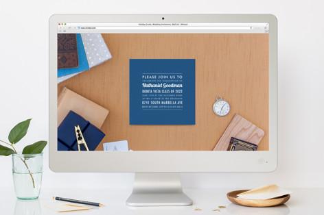 The Square Types Graduation Online Invitations