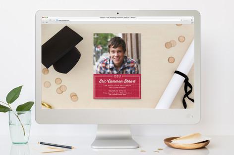 University Graduation Online Invitations