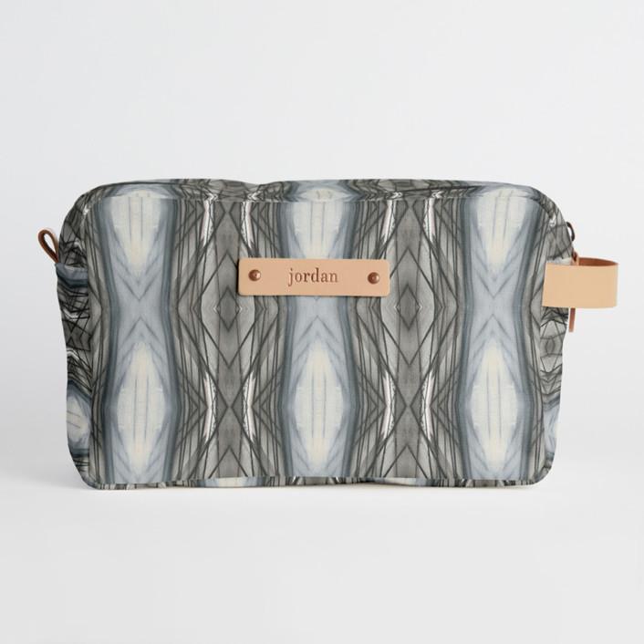 Ikat Stripe Dopp Kit, $34