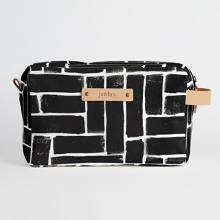 This is a black dopp kit by Michelle Taylor called Constructed in standard.