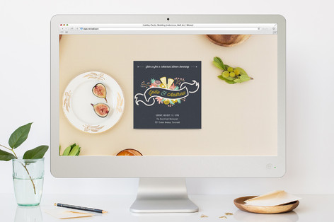 Wrapped in Love Rehearsal Dinner Online Invitations