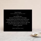 Foil-Pressed Direction Cards
